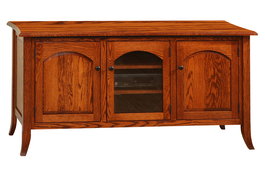 bunker hill flat wall tv stand