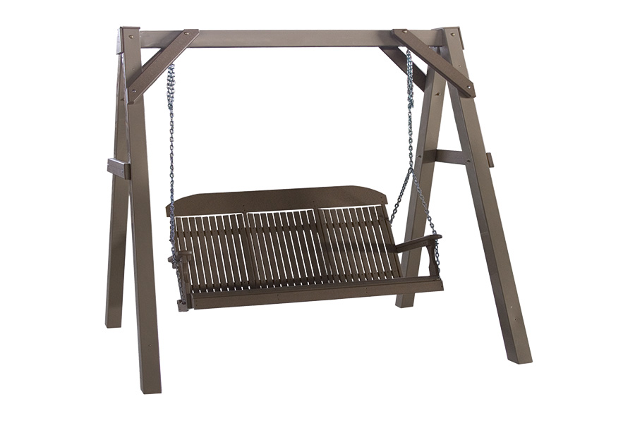 a frame swing stand