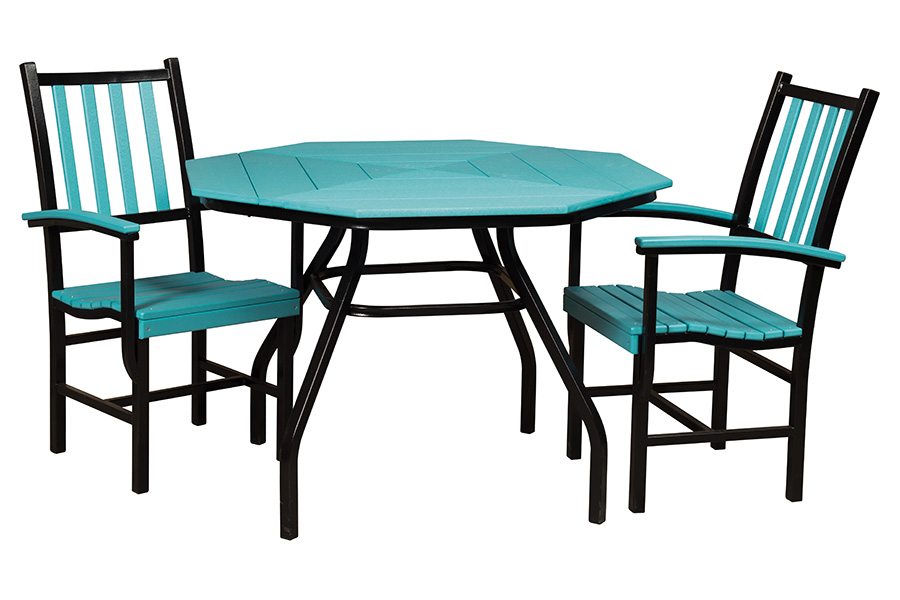 julia dining table with Olivia dining chairs
