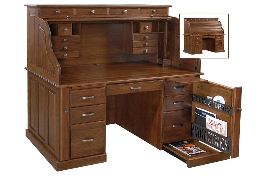 jacobs deluxe rolltop desk