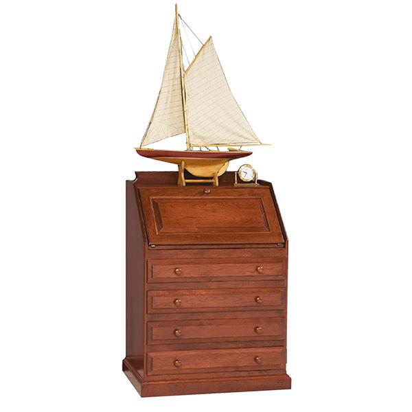 secretary desk wth drawers