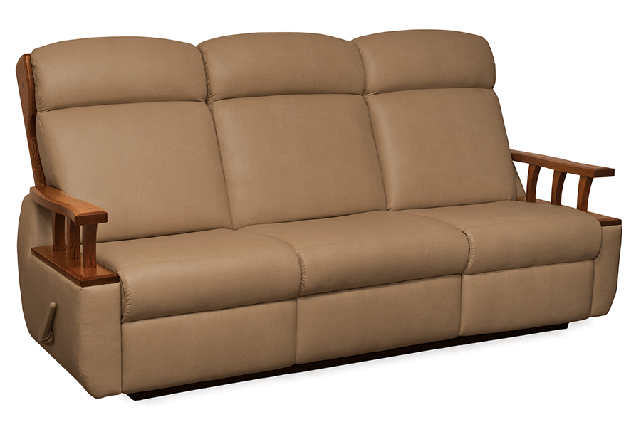 Lincoln wall hugger reclining sofa