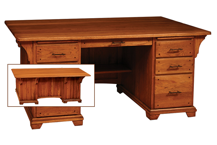 bentley deluxe executive desk