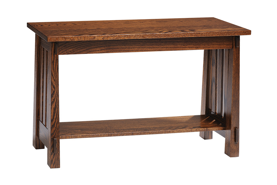 country mission sofa table