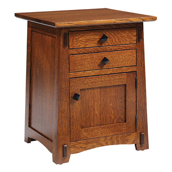olde shaker two drawer end table
