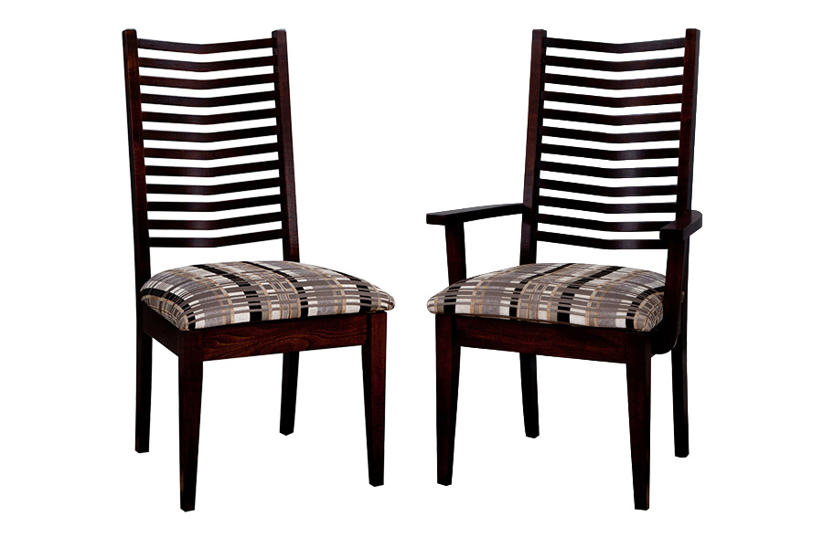 spencer dining side chair and spencer dining arm chair