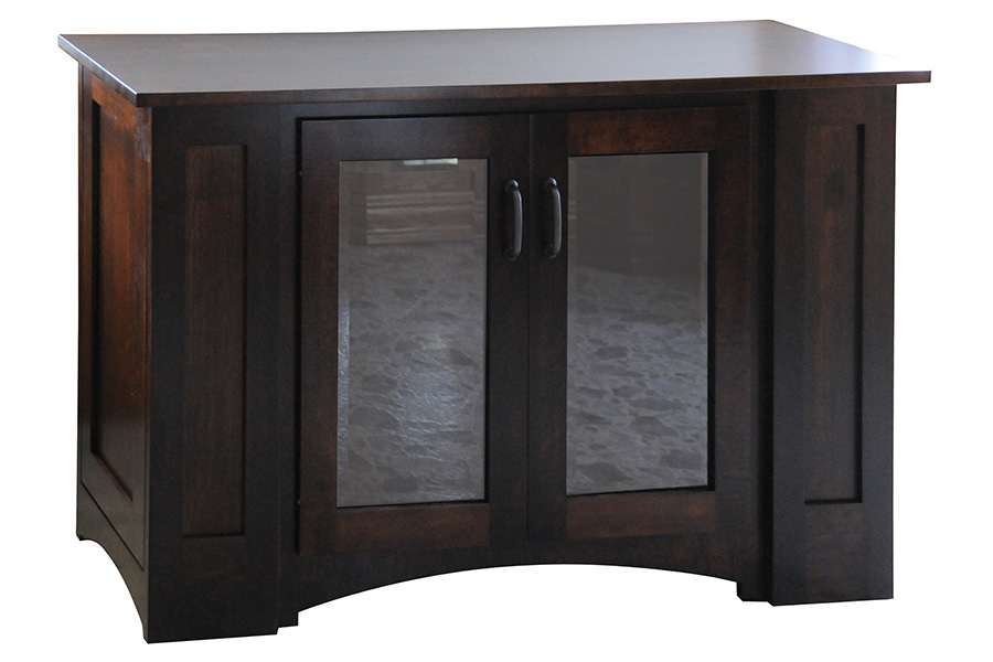 mission deluxe etc flat wall tv console