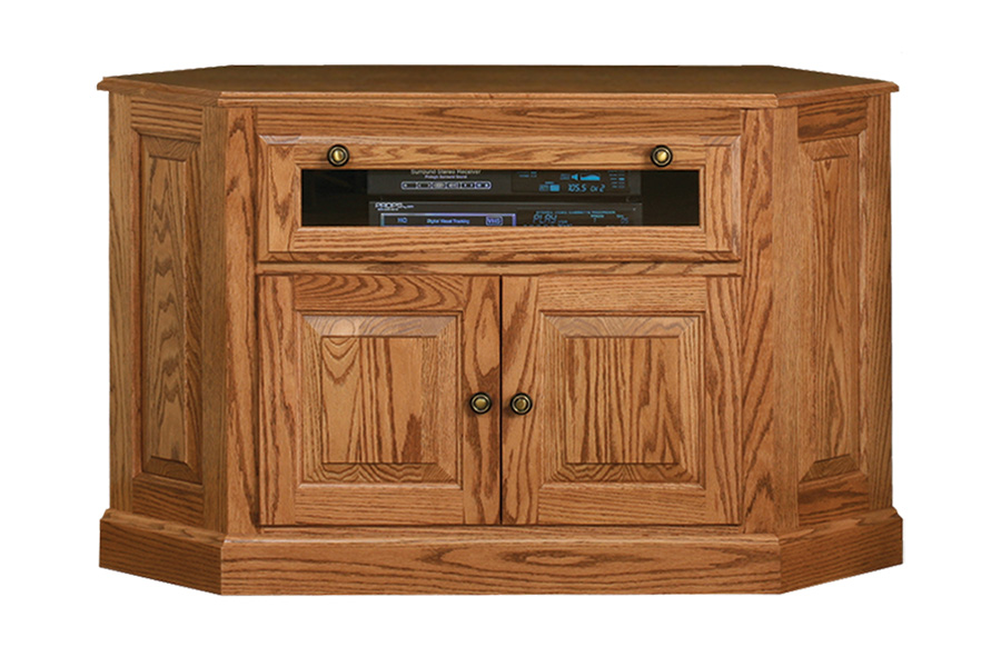 heirwood traditional corner tv stand