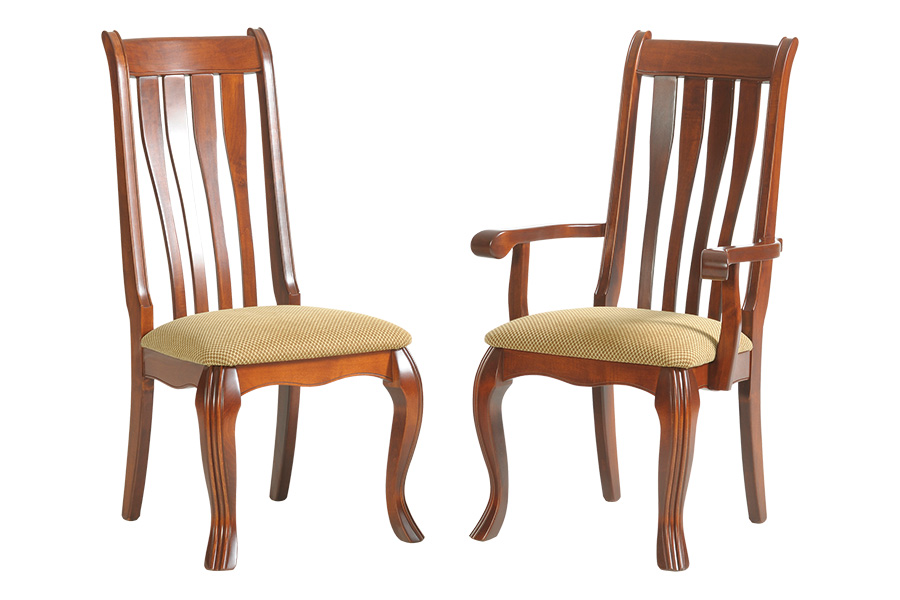hampton dining side chair and Hampton dining arm chair