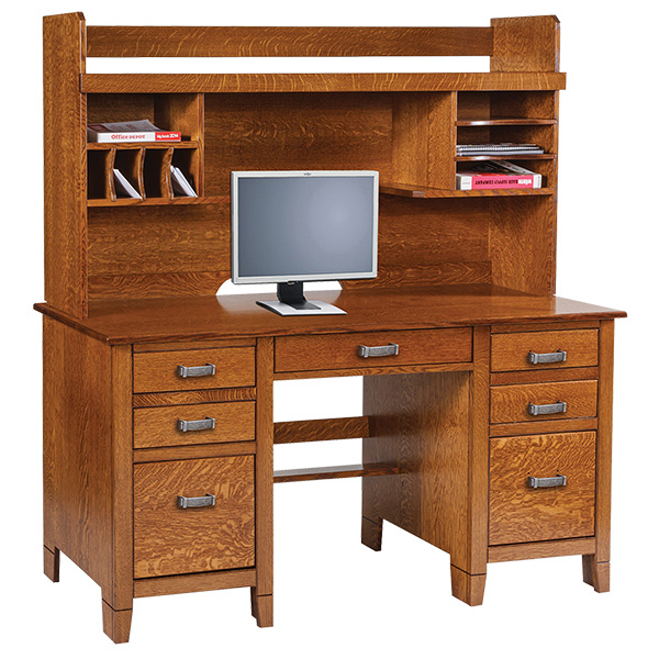 jacobsville desk and hutch