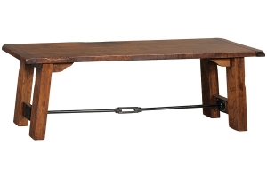 settlers mission dining bench
