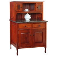 new england bay dining hutch
