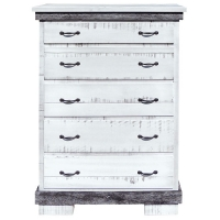 silver slate chest of drawers