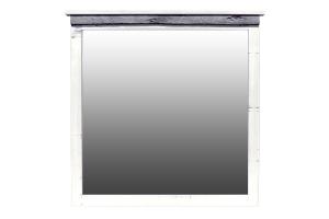 silver slate dresser mirror