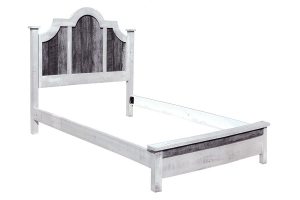 silver slate bonnet bed