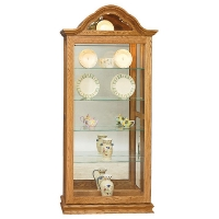 curved top picture frame curio