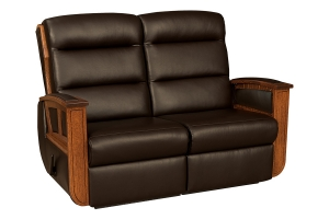 hampton wall hugger recliner loveseat