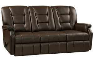 superior wall hugger reclining sofa