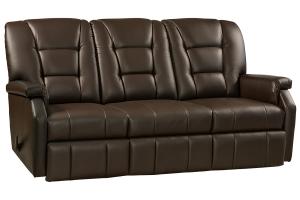 superior wall hugger reclining sofa