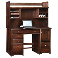 economy desk and hutch
