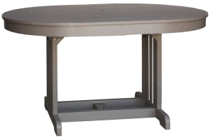 mission oval table