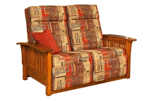 mission 85 wallhugger loveseat recliner