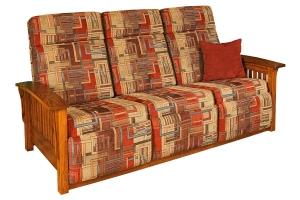 mission 85 wallhugger sofa recliner