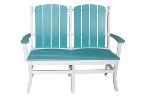 galveston two person bench
