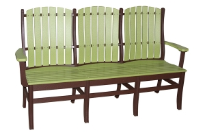 Williamson three person bench