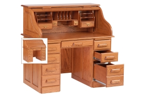 fifty four inch rolltop desk