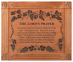 the lords prayer engraved