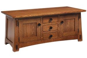 olde shaker coffee table