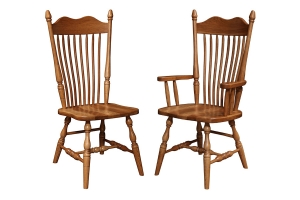canfield dining side chair and canfield dining arm chair