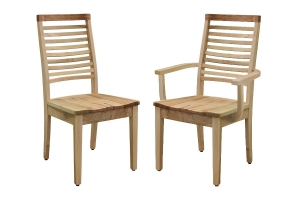 simply organic side chair and simply organic arm chair