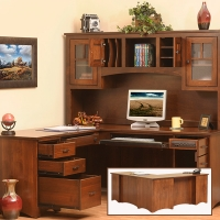 prairie mission l-desk and hutch