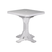 41inch square table