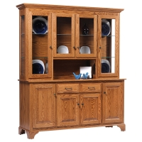 americana four door hutch and americana four door buffet