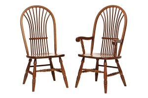 americana dining side chair and americana dining arm chair