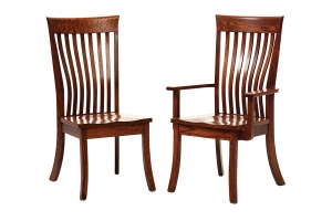 shaker dining side chair and shaker dining arm chair