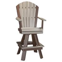 classic swivel bar chair