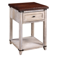 farmhouse heritage one drawer nightstand