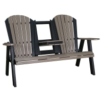 60inch flip-down love seat