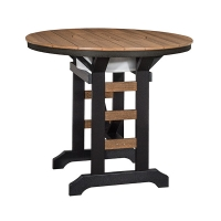 """48"""" Round Table with Party Bowl"""
