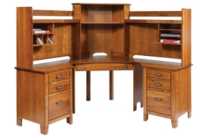 jacobsville compact corner desk and hutch